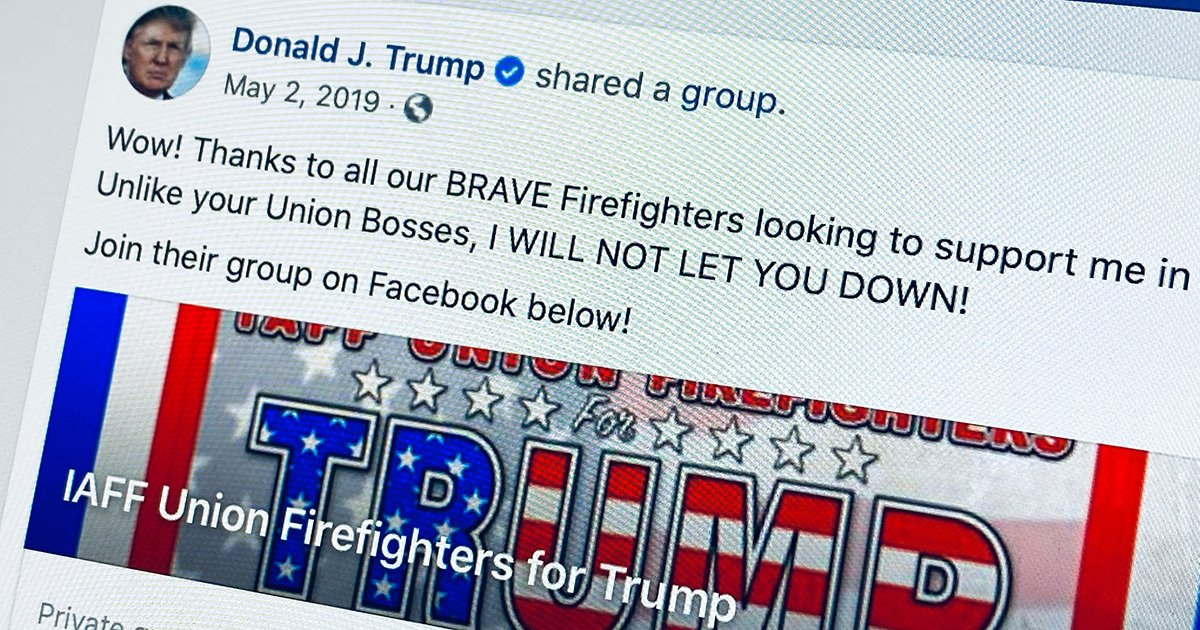 Inside The Pro Trump Facebook Group Where First Responders Call