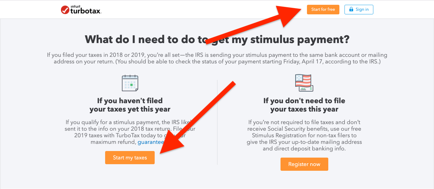 Millions Of Americans Might Not Get Stimulus Checks Some Might Be Tricked Into Paying Turbotax To Get Theirs Propublica