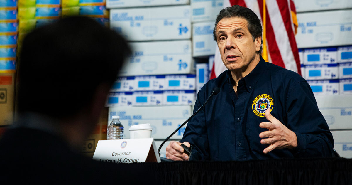 Fire Through Dry Grass Andrew Cuomo Saw Covid 19 S Threat To Nursing Homes Then He Risked Adding To It Propublica