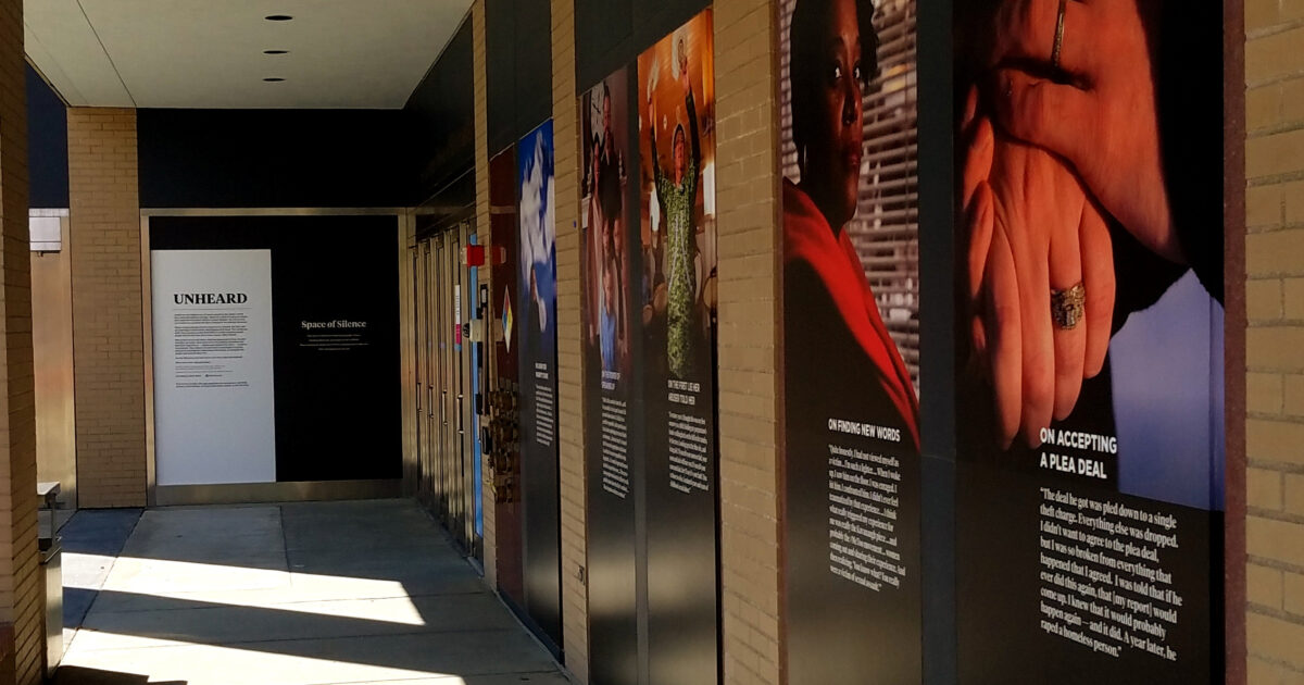 """An Opportunity to Listen as Our """"Unheard"""" Project Becomes a Museum Installation"""