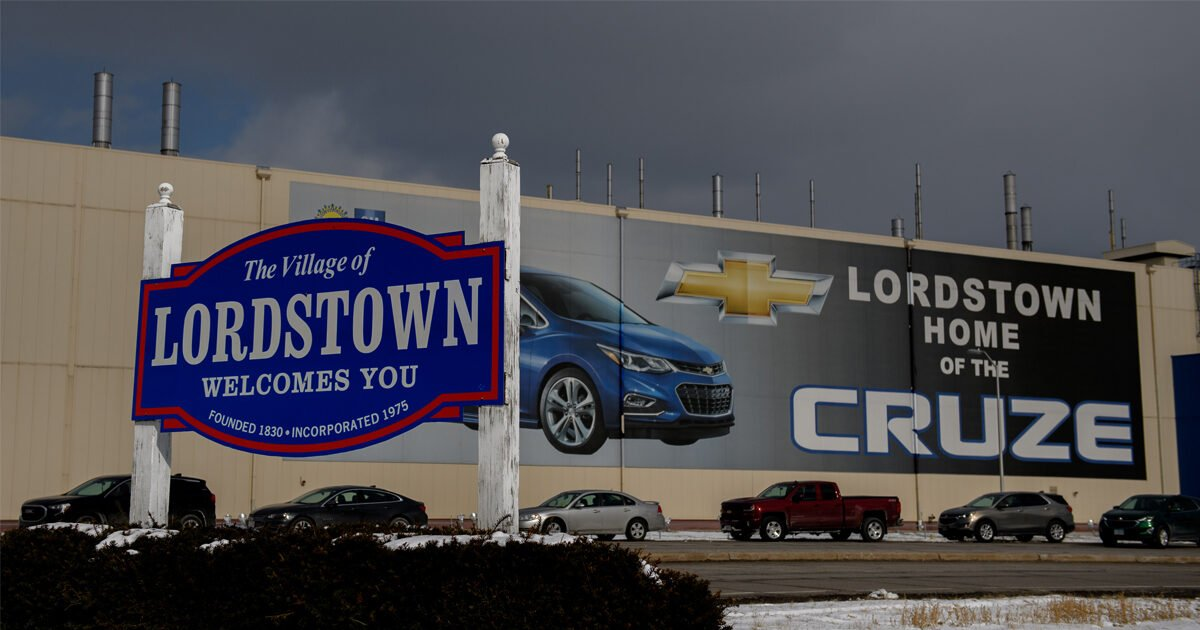 Ohio Just Ordered GM to Repay $28 Million in Tax Breaks for Closing the Lordstown Auto Plant