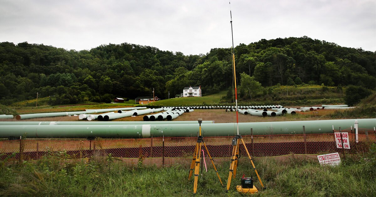 Federal Regulators Are Rewriting Environmental Rules So a Massive Pipeline Can Be Built