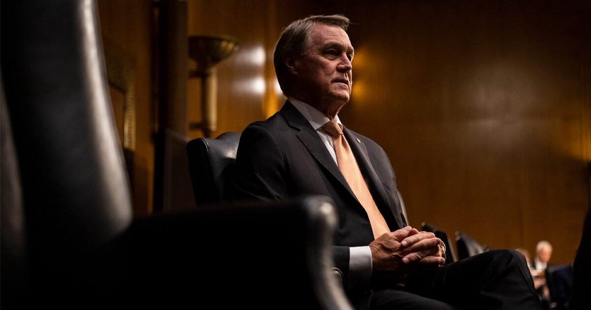 Sen. David Perdue Sold His Home to a Finance Industry Official Whose Organization Was Lobbying the Senate
