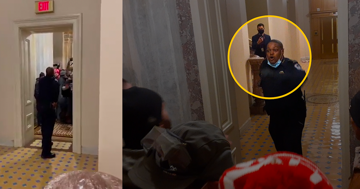 """""""Where They Countin' the Votes?!"""": New Video Details Tense Moments as Capitol Mob Sought Out Lawmakers"""