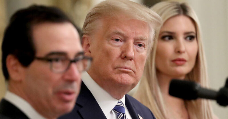 Trump Friends and Family Cleared for Millions in Small Business Bailout