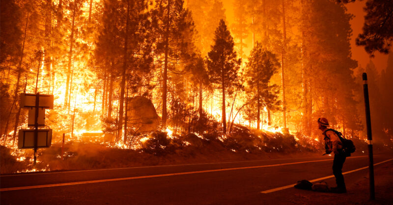 The Climate Crisis Is Happening Right Now. Just Look at California's Weekend.