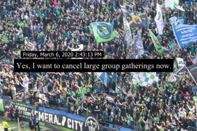 Seattle Allowed 33,000 Fans to Attend a Soccer Game as COVID-19 Cases Increased 2