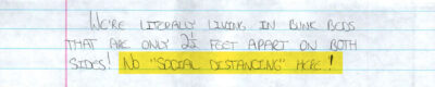 """""""I Do Not Want to Die in Here"""": Letters From the Houston Jail 5"""