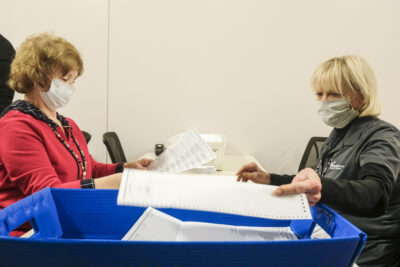 Voters once again flooding local clerks with absentee ballot requests