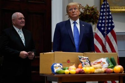 Now in Government Food Aid Boxes: A Letter From Donald Trump 3