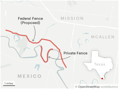 He Built a Privately Funded Border Wall. It's Already at Risk of Falling Down if Not Fixed. 3