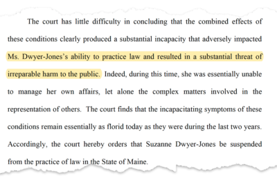 Maine Hires Lawyers With Criminal Records to Defend Its Poorest Residents 2
