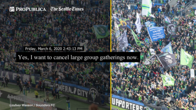 Seattle Allowed 33,000 Fans to Attend a Soccer Game as COVID-19 Cases Increased 3